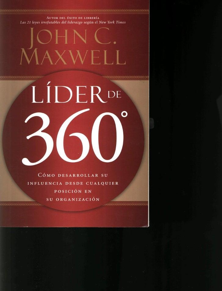 Lider de 360 grados-Jhon Maxwell