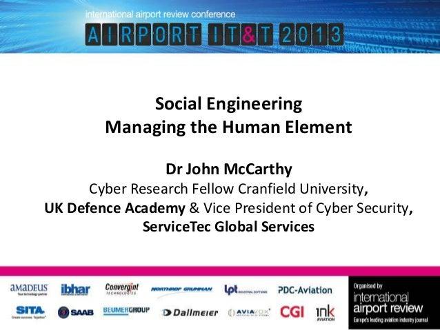 Airport IT&T 2013 John McCarthy
