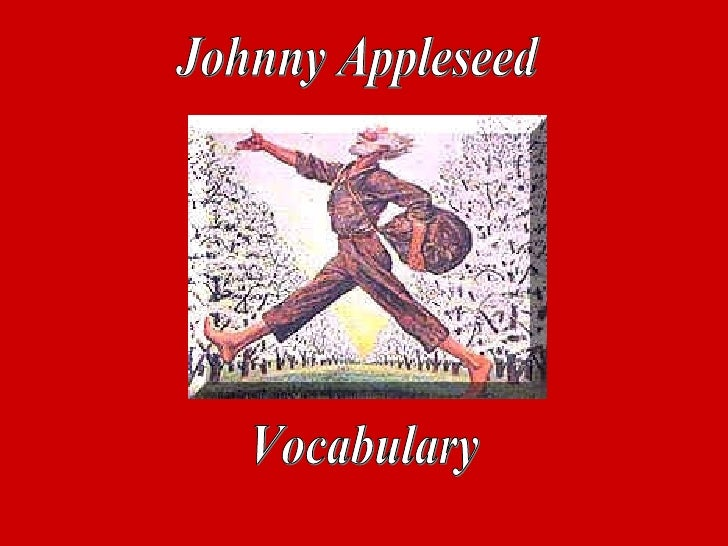 Johnny Appleseed Vocabulary
