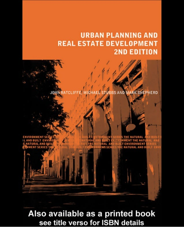 Urban Planning and Real Estate by John ratcliffe