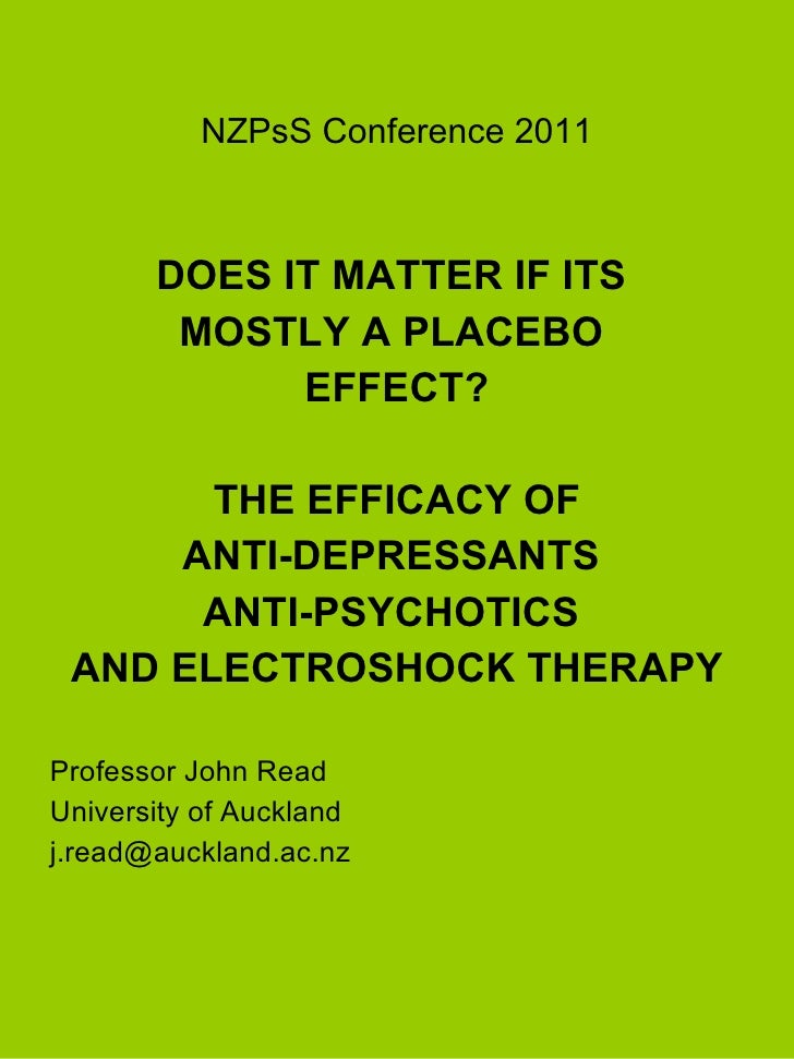 John Read, Placebo