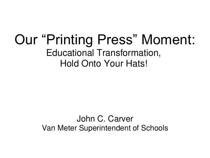 John Carver Breakfast Keynote at METC