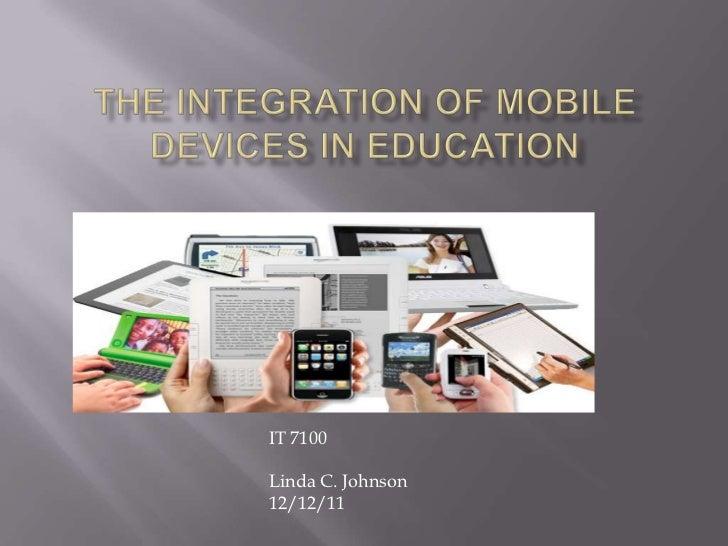 IT 7100Linda C. Johnson12/12/11