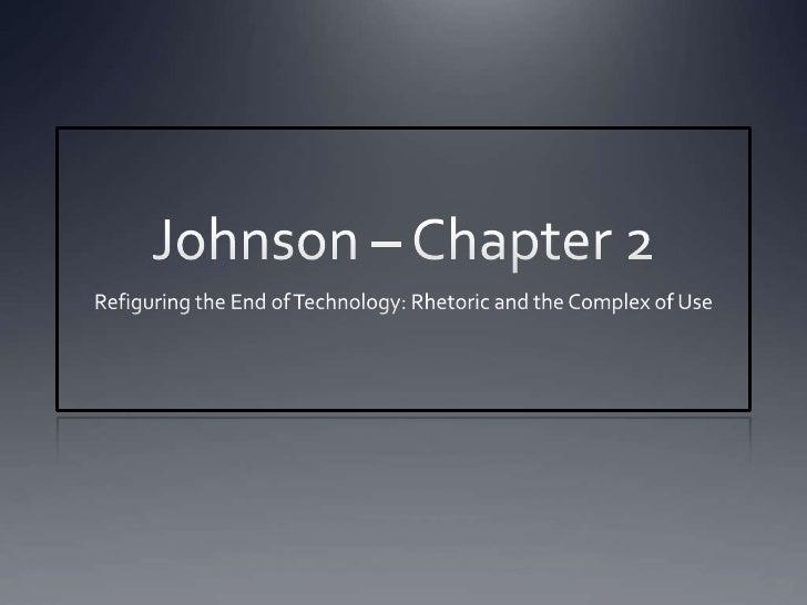 Johnson- Chapter 2