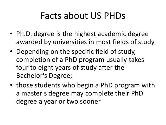 Highest academic degree