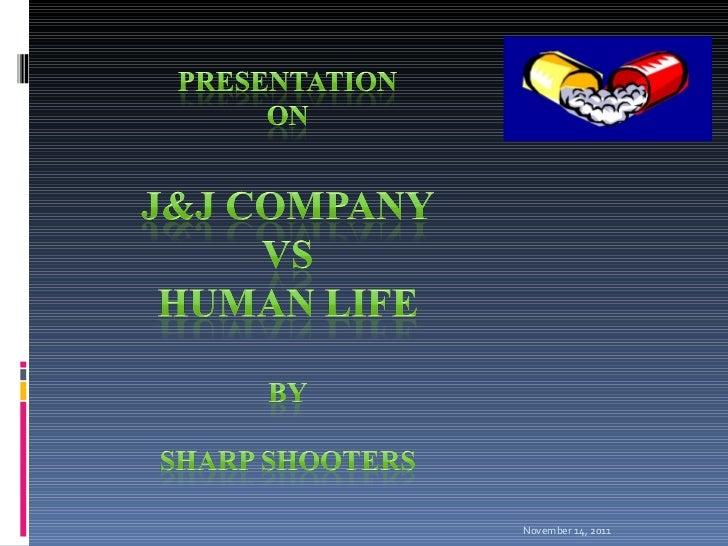 Johnson & johnson and ethics