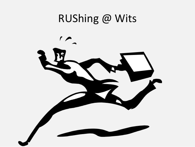 Johnson ru shing @ wits