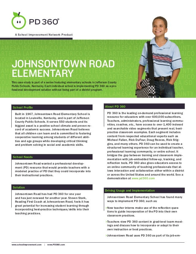 Johnsontown Road Elementary, KY - PD 360 Case Study
