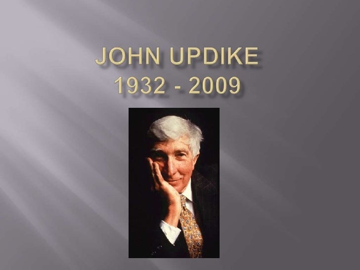 character analysis a p by john updike The exposition of a story occurs in the opening stages and introduces the reader to the characters and believe updike chose to write a&p from the john updikes.