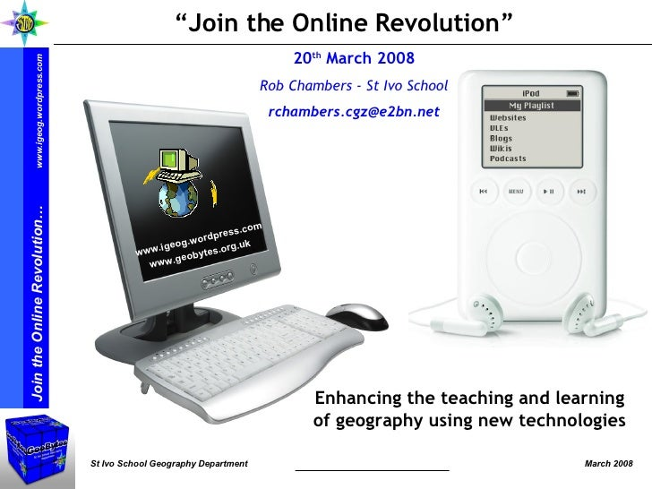 Join the Online Revolution - March 08