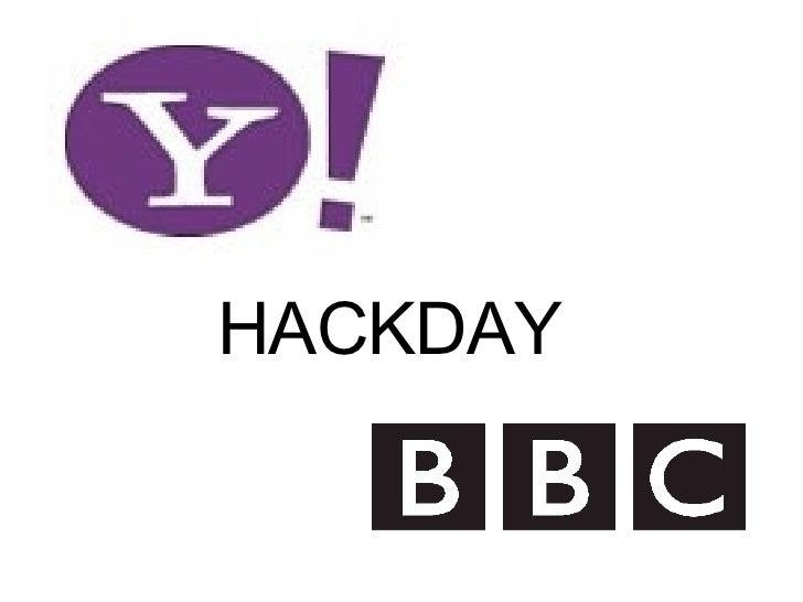 Join us at Hackday 2007