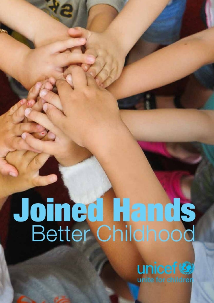 Joined hands - Better childhood