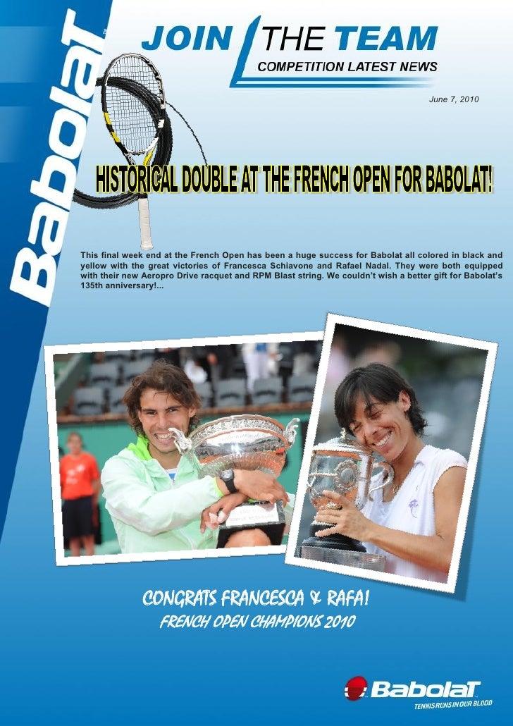 Roland Garros 2010 full domination
