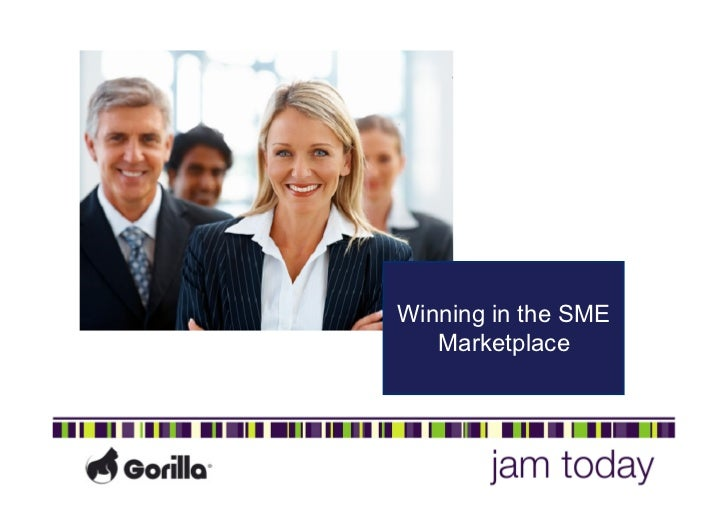 Winning in the SME   Marketplace