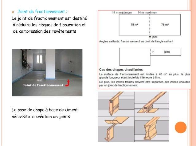 Joints - Joint de dilatation pour chape ...