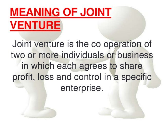 Joint venture and mergers and acquition