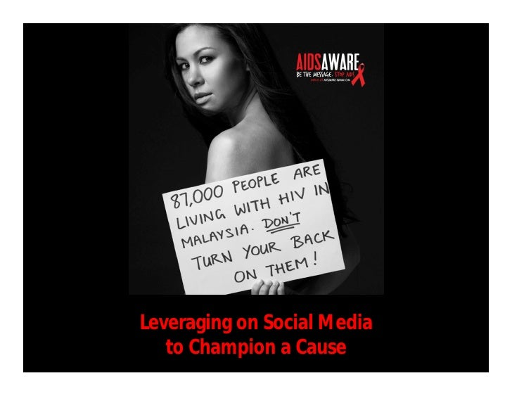 Leveraging on Social Media   to Champion a Cause