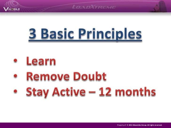 3 Basic Principles<br /><ul><li>Learn