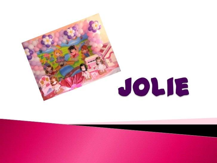 Jolie<br />