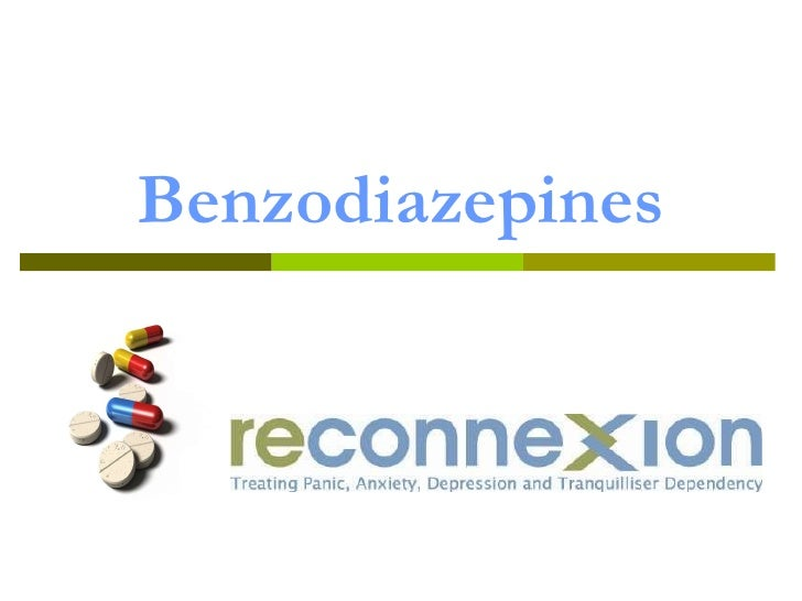 DrugInfo seminar: Benzodiazepines and the older generation