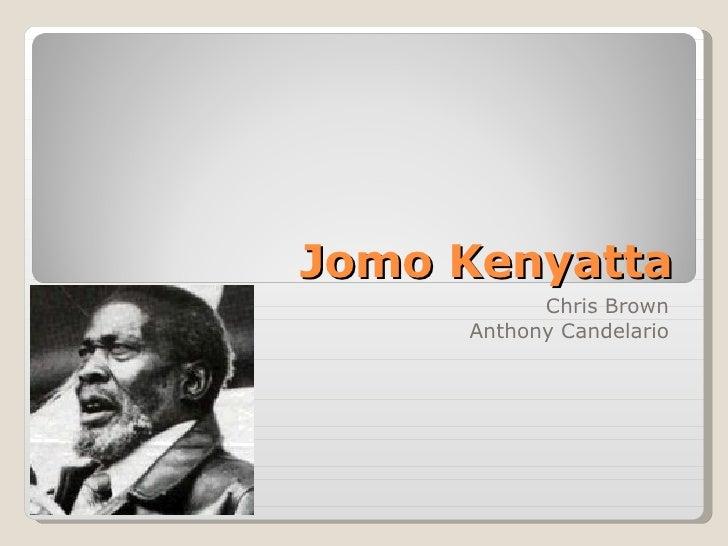 Jomo Kenyatta Chris Brown Anthony Candelario