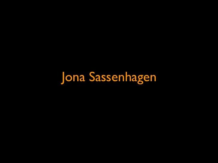 Jona Sassenhagen