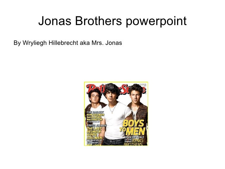 Jonas Brothers Power Point 2009