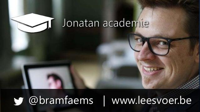 Jonatan Academie - Bram Faems