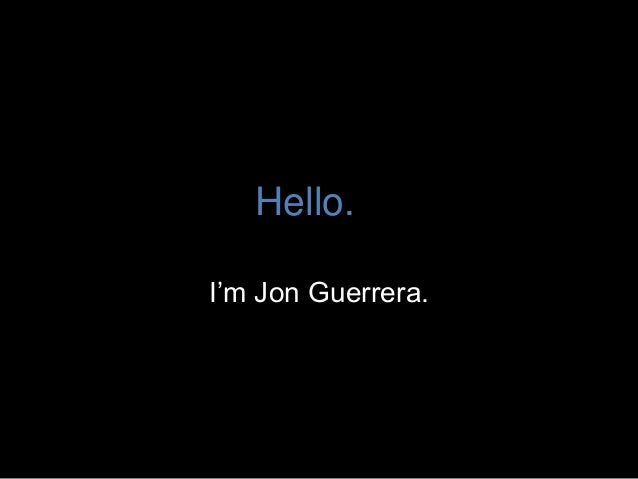 Jonathan Guerrera - Gamifying the Job Search Process and Self-Improvement: One Year Later