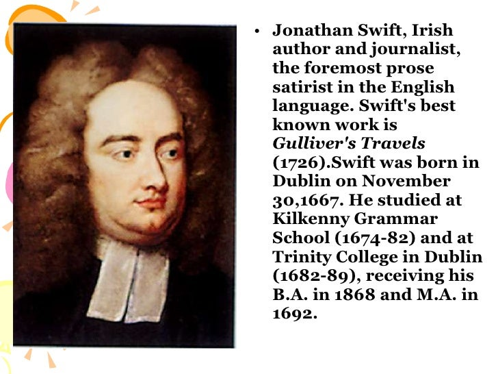 Jonathan Swift Essay