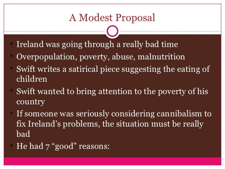literary analysis of the novel a modest proposal by jonathan swift He put the bones of children in stewpots in a modest proposal and skewered human immorality professor of literature at harvard university author of the new book, jonathan swift: his life and his world.