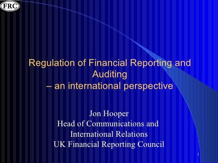 <ul><li>Jon Hooper </li></ul><ul><li>Head of Communications and  </li></ul><ul><li>International Relations </li></ul><ul><...