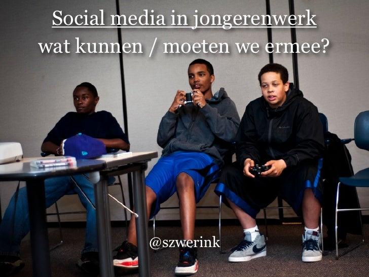 Jongerenwerk en social media