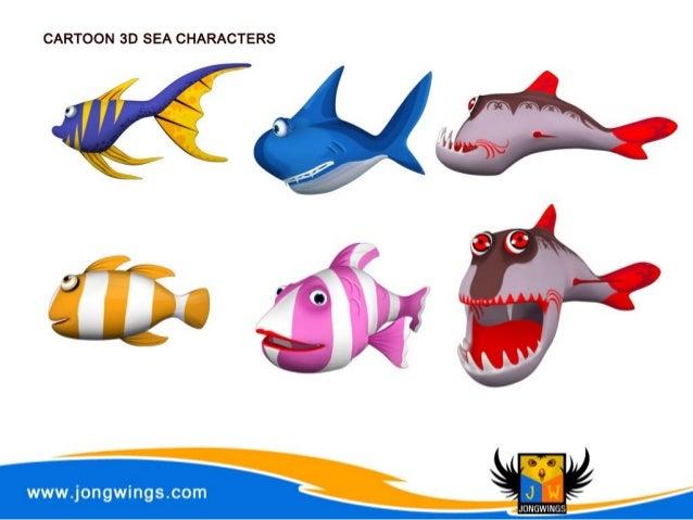 3d Character Design App : Jongwings d character design