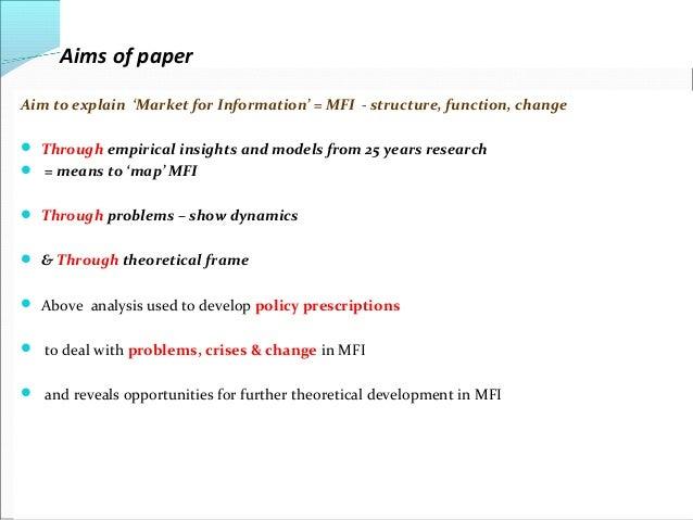 Research Paper On Economics