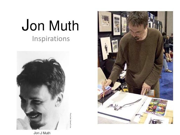 Jon Muth inspirations