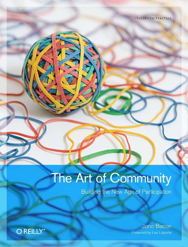 Jonobacon Art of community online