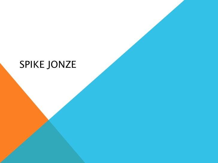 Spike Jonze
