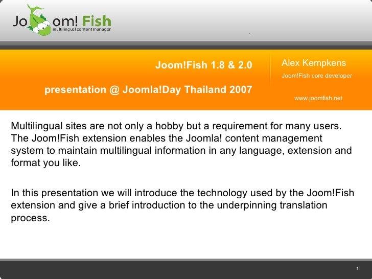 Joom!Fish 1.8 & 2.0