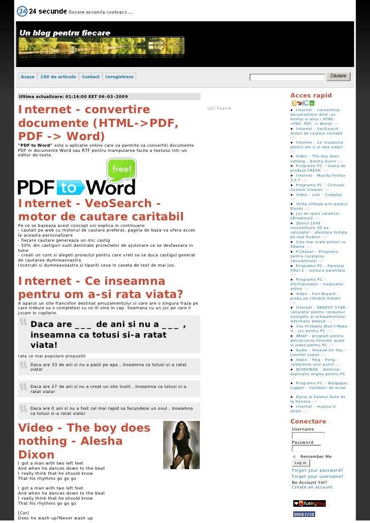 Căutare  Acasa    100 de articole    Contact    Inregistrare                                                              ...