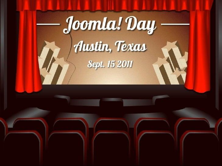 Joomla Day Austin Part 2