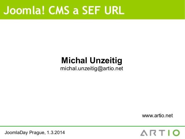 Joomla! CMS a SEF URL