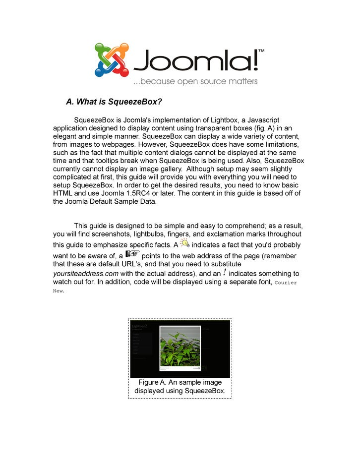 Joomla v-15-squeezebox-in-your-joomla-website