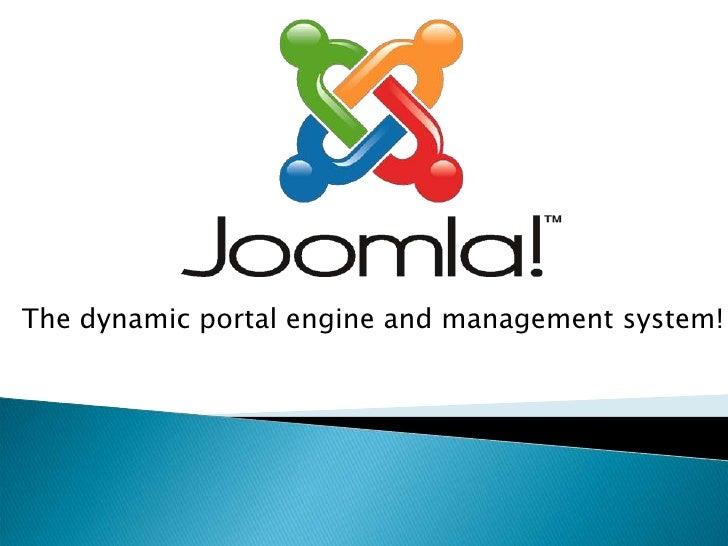Joomla   Workshop