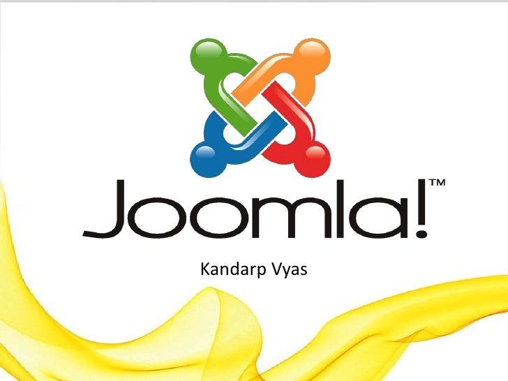 Introducing Joomla! CMS
