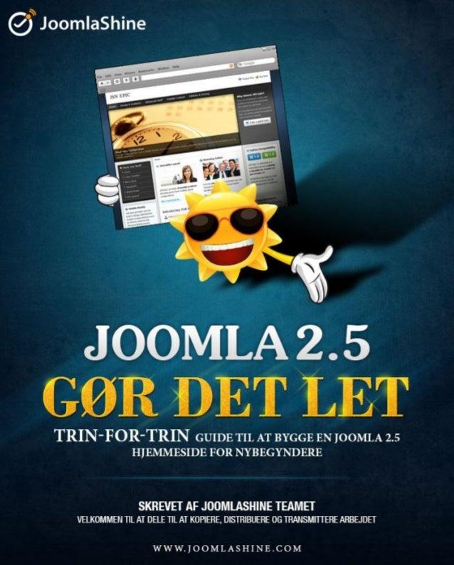 Joomla 2.5 made easy (Dänisch)