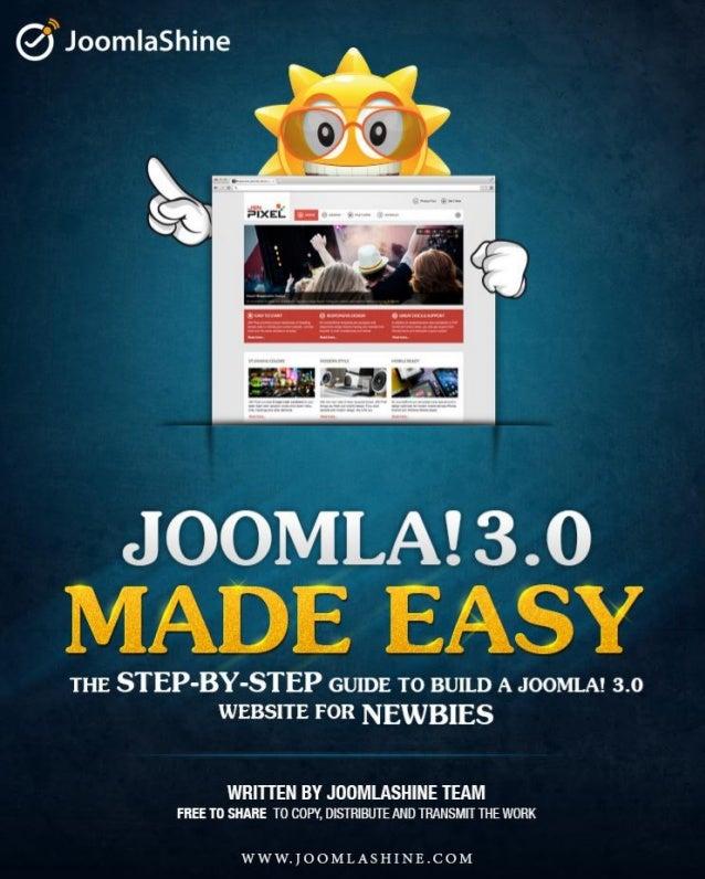 Joomla 3.0 Made Easy | Free E-book