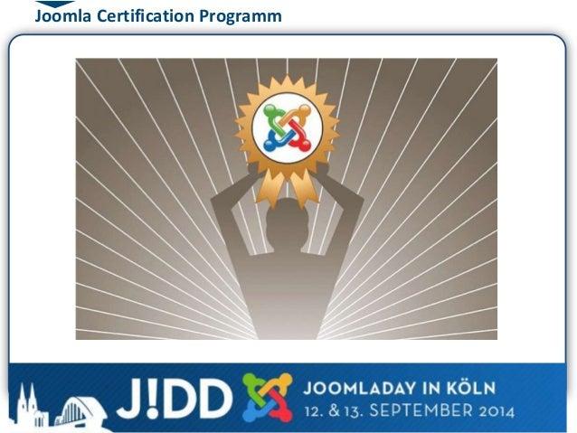 Joomla Certification Programm