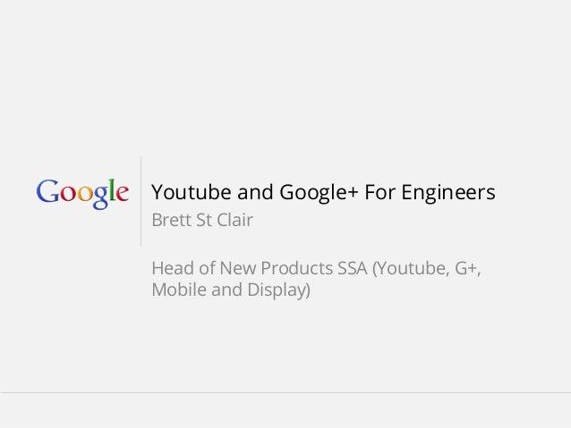 Youtube Analytics Google+