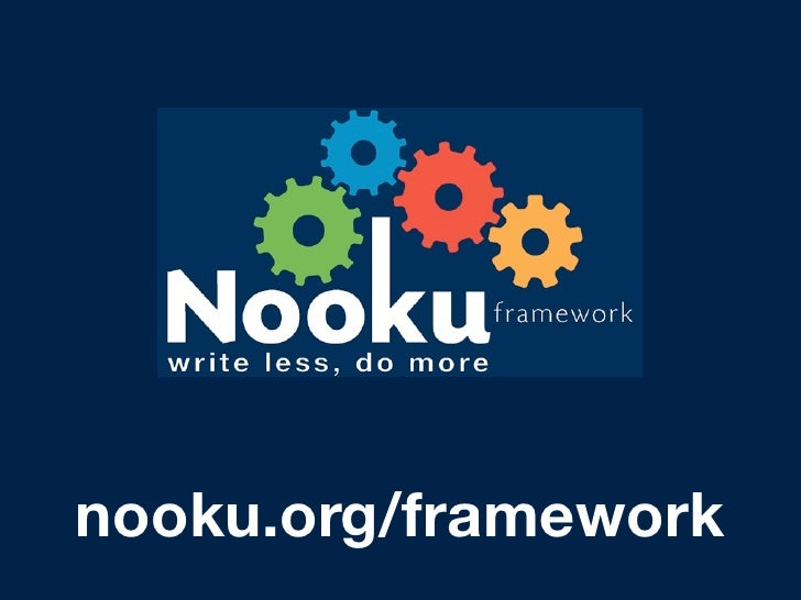 Joomladay Es 2009  - Nooku Framework